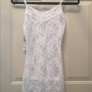 White Lace Tank Top from Buckle